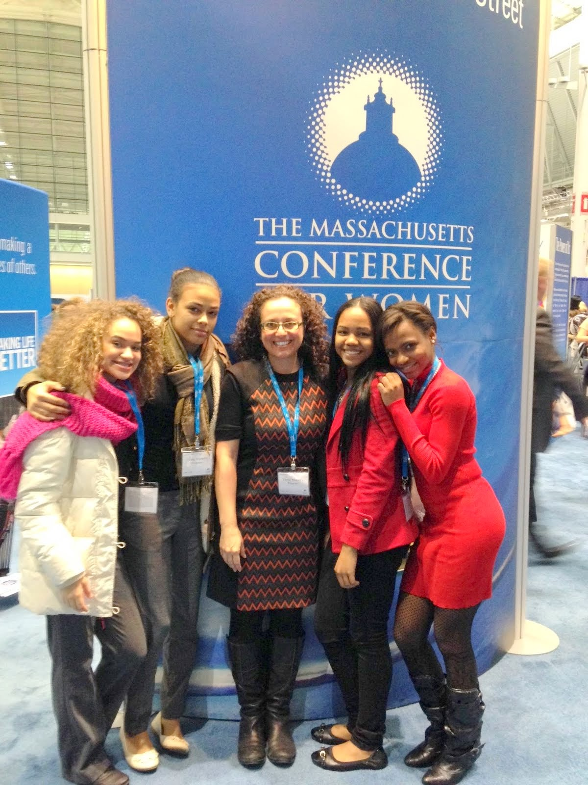 KeySteps youth receive scholarships to attend MA Conference for Women.